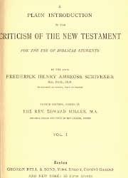 Frederick H. Scrivener