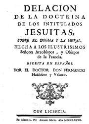 Fernando Huidobro y Velasco