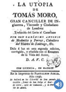 La Utopía de Tomás Moro
