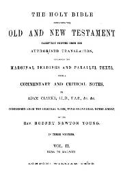 The Holy Bible Containing The Old and New Testament (II)