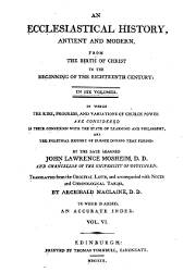 John Lawrence Mosheim