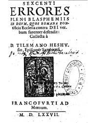 Tilemano Heshusio
