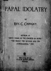 Papal Idolatry