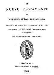 El Nuevo Testamento de Nuestro Señor Jesucristo (1864)
