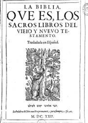 La Biblia que es los Sacros Libros del Viejo y Nuevo Testamento (.1), (1622)