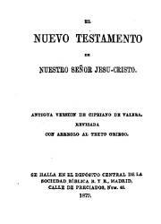 El Nuevo Testamento de Nuestro Señor Jesu Cristo (1879)