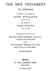 John Wycliffe, John Purvey
