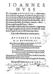 De Anatomia Antichristi