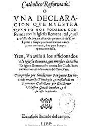 Catholico Reformado