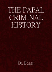 The Papal Criminal History