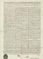 Nos los Inquisidores Contra la Heretica Pravedad y Apostasía, Valencia, el 02-03-1817