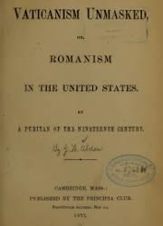 A Puritan of the Nineteenth Century