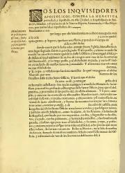 Nos los Inquisidores Apostólicos Contra la Heretica Pravedad y Apostasía, México (1)