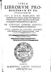 Index Librorum Prohibitorum 1 (1,619)