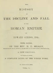 The History of the Decline and Fall of the Roman Empire (1/5)