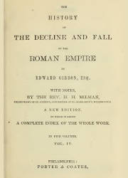 The History of the Decline and Fall of the Roman Empire (4/5)