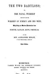 The Two Babylons, 3 Ed., 1867