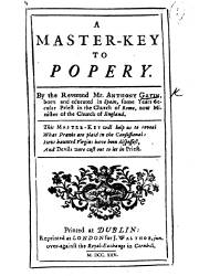 A Master Key to Popery