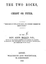 The Two Rocks, Christ or Peter