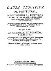 Causa Jesuítica de Portugal