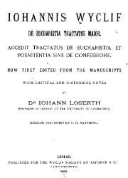 De Eucharistia Tractatus Maior