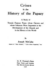Crises in History of the Papacy