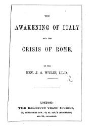 The Awakening of Italy and the Crisis of Rome