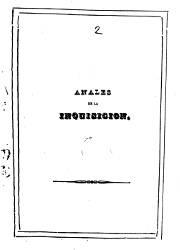 Anales de la Inquisición de España (1)