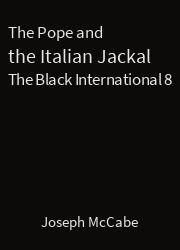 The Black International 08, The Pope and the Italian Jackal