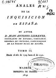 Anales de la Inquisición de España (2)