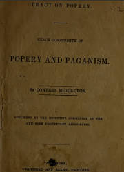 Popery and Paganism