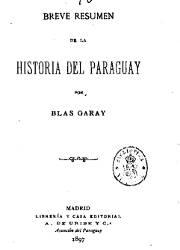 Breve Resumen de la Historia del Paraguay