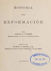 Historia de la Reformación
